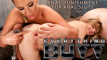 EverythingButt.com is anal sex and so much more: spanking, enema sex, strap-on anal, lesbian anal, fisting, rimming, ass worship, smothering, caning, and more.