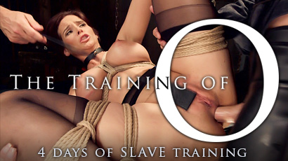 ON TheTrainingofO.com, beautiful submissive women take a 4-day journey through slave training, experiencing erotic bondage, punishment, and humiliation to become trained sex slaves.
