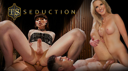 At TS Seduction, beautiful TS girls are in control, fucking and getting fucked.