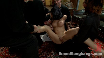 Fantasy Fufillment Service - Beautiful Law Student Pays Big Money for Gang Bang Fantasy