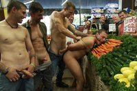 Studly-shoplifter-gets-an-eggplant-up-his-ass-and-a-face-full-of-cum-at-a-fruit-stand