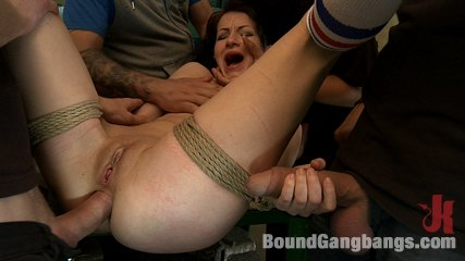 The Perfect Picture - Tiny Russian Girl Ganbanged, Two Dicks in Ass
