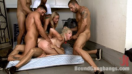 Vote Simone Sonay! Hot Blonde Dominated by Step-Mom & Gangbanged! DAP!