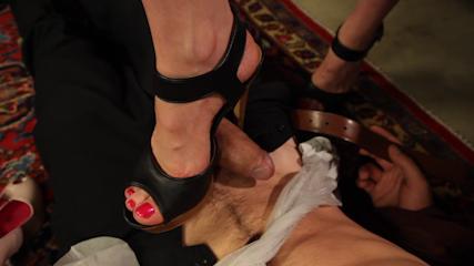 Thanksgiving FEMDOM Foot Affair