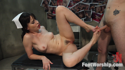 Foot Therapy Part 2 with Dana DeArmond!