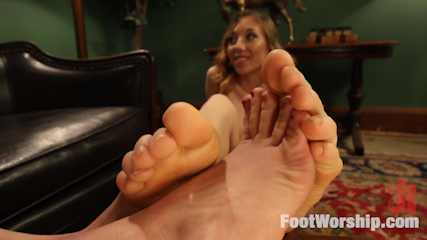 Foot obsessed stepmom MILF gets fucked by step daughter!