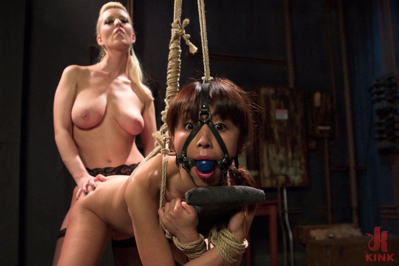 lesbian anal bondage