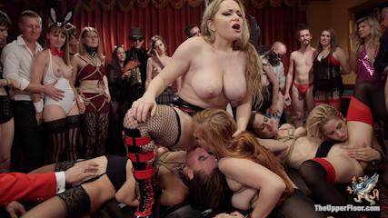 Slutty Slave Anal Orgy
