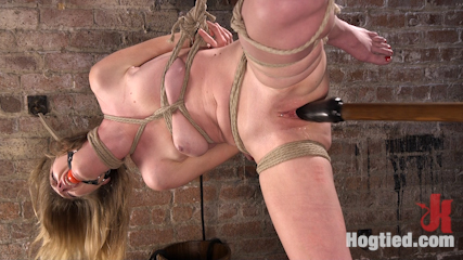 All Natural Girl Next Door is Destroyed in Brutal Bondage