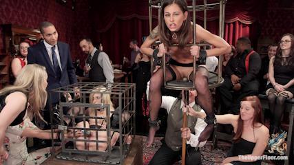Caged Slut Puppy Slaves