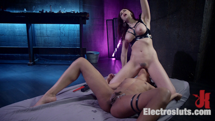 Chanel Preston Electro Initiates Kira Noir!
