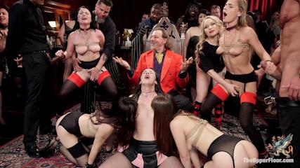 The Steward's Birthday Slave Orgy