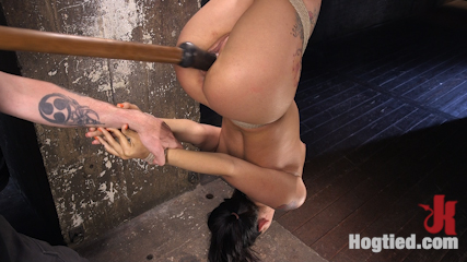 19 Year Old Slut in Devastating Bondage and Tormented!!