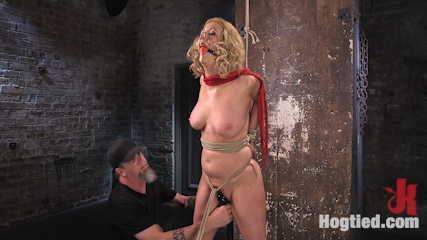 Cherry Torn Returns To Hogtied!!