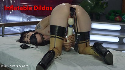 Inflatable dildos. Learn how to use inflatable toys, alone,