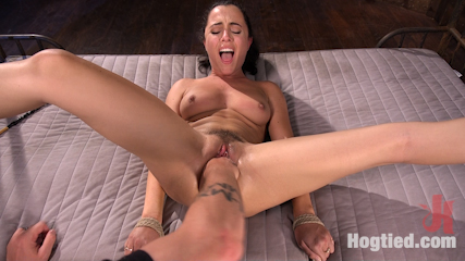 College Girl/Pain Slut Suffers in EXTREME Bondage & Brutal Domination