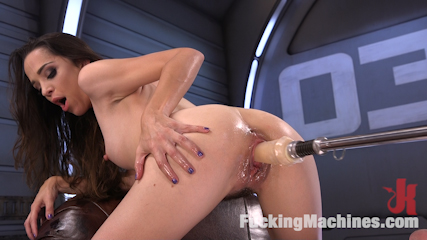 Fresh Meat - Nikki Next Gets Her First Taste of Fucking Machines