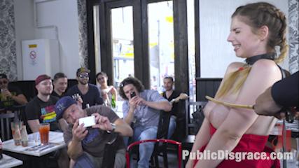 Busty Stella Cox Loves Getting Fucked In Public