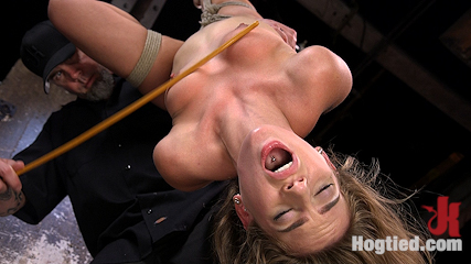 Hot Petite Blonde Surrender to Devastating Bondage and Torment