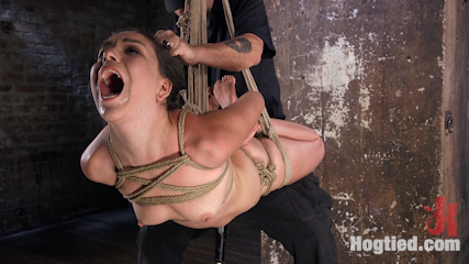 Pain Pixie Suffers in Grueling Bondage, is Tormented, and then Made to Cum