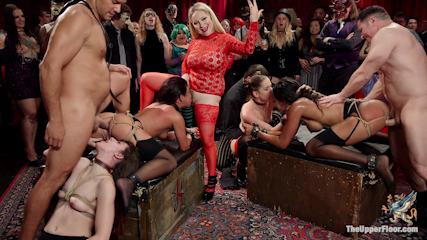 Anal Slaves Serve Kinky Costume Ball