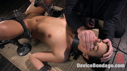 19 Year Old Brazilian in Devastating Bondage