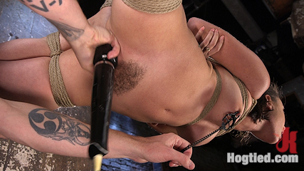 College Brat Gets Devastating Torment in Grueling Bondage