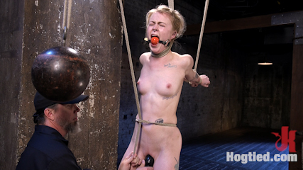 Suspension Slut Anna Tyler Succumbs to Squirting Orgasms