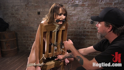 Charlotte's Caught in a Web of Bondage and Tormented