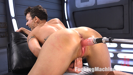 Tall and Fit Sex Kitten Has Mind Blowing Orgasms from Our Machines