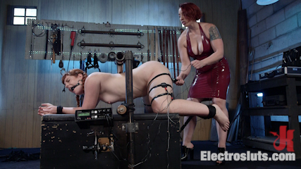 How Much Will You Take?: Electroslut Barbary Rose Serves Mistress Kara