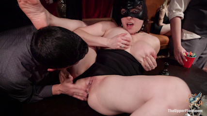 The Final Armory BDSM Orgy with a huge group orgasm!