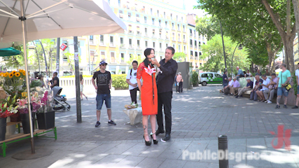 Walk of Shame Slut Lilyan Red, Disgraced, Humiliated, Fucked in Public