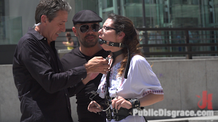 Public Shame Slut Zenda Sexy Disgraced, Tickled, and Fucked by a Crowd