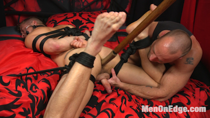 Hot new stud with a beautiful cock gets edged and fucked to cum!