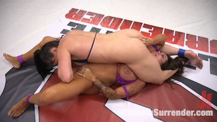 Lea Lexis Torments a Big Tittied MILF rookie with sex