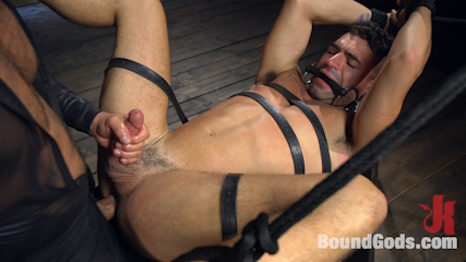 Bronze Submissive God Ian Greene gets Brutally Beaten and Fucked Senseless by Hung Stud