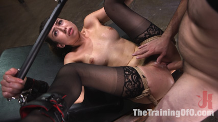 Training a Pain Slut: Busty Melissa Moore's First Submission