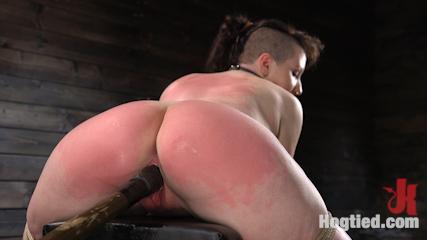 Pain Slut Paige Pierce Submits to Rope Bondage and Corporal Punishment