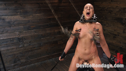 Sex Slave Lilith Luxe Humiliated with Head Shaving and Coerced Orgasms