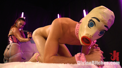 Sweet Sadism: Plastic Princess Torments Her Toy