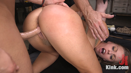Britney Amber's Intense Whore Endurance Training
