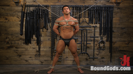 Bodybuilder Draven Navarro Takes Pain, Extreme CBT, and Gets Fucked