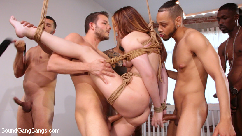 Screenshot #3 from Sweet Maya Kendrick Gets Every Hole Slammed Deep And Hard In Bondage movie