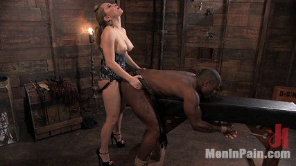 Miss Starr Dominates Big Boy's Black Ass