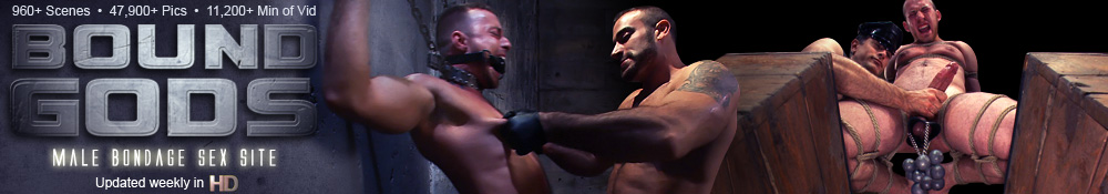 Bound Gods - Male Bondage Sex Site
