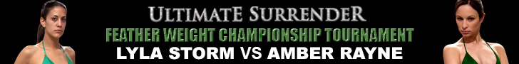 ultimate surrender feather weight tournament lyla storm vs amber rayne
