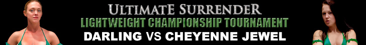 ultimate surrender feather lightweight tournament darling vs cheyenne jewel