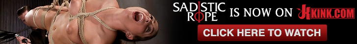 Sadistic Rope is now on Kink.com click here to watch