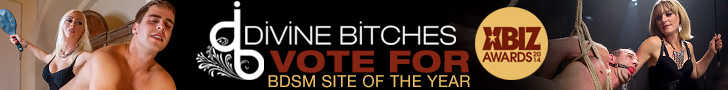 divine bitches vote for BDSM site of the year xbiz awards 2014